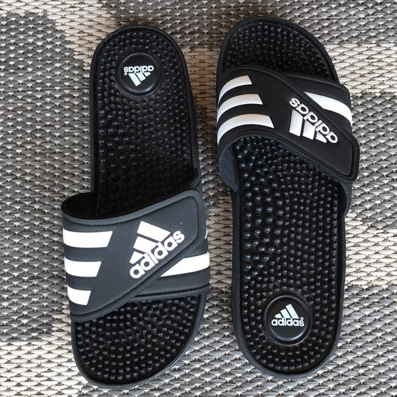 newest 71bf3 2f50d adidas Shoes - ADIDAS Adissage Slides Sandals Womens 7